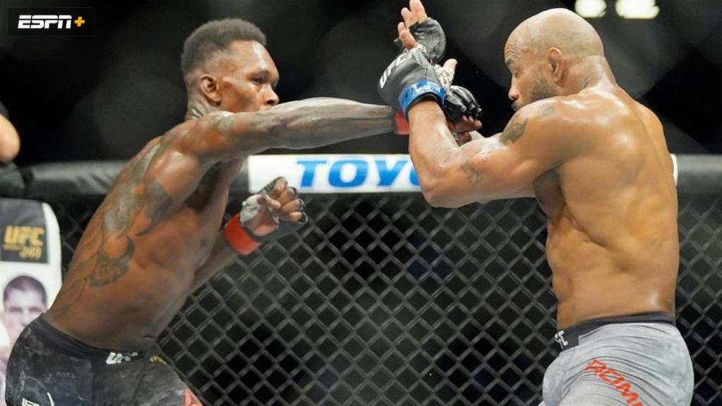 UFC 248: Adesanya vs. Romero (Main Card)
