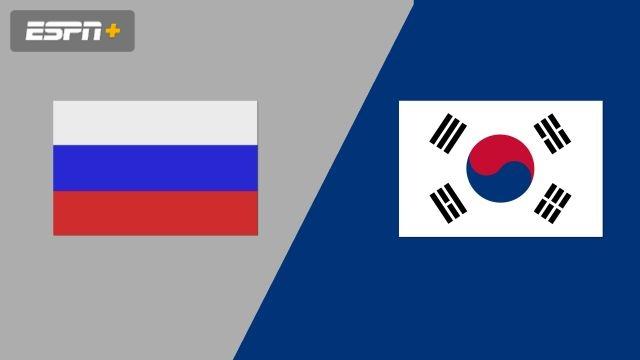 Russia vs. Korea (Group Phase)