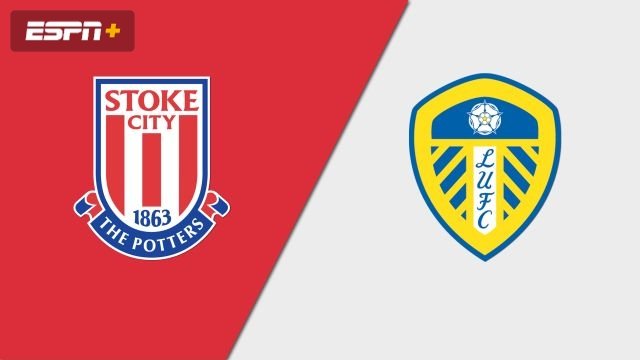 Stoke City vs. Leeds United (English League Championship)