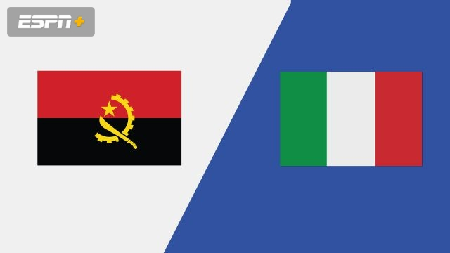 Angola vs. Italy (Group Phase)