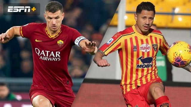 In Spanish- AS Roma vs. Lecce (Serie A)