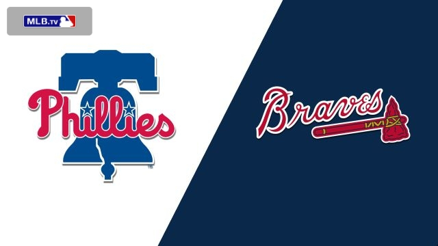 Philadelphia Phillies vs. Atlanta Braves
