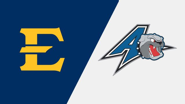 East Tennessee State vs. UNC Asheville (W Basketball)