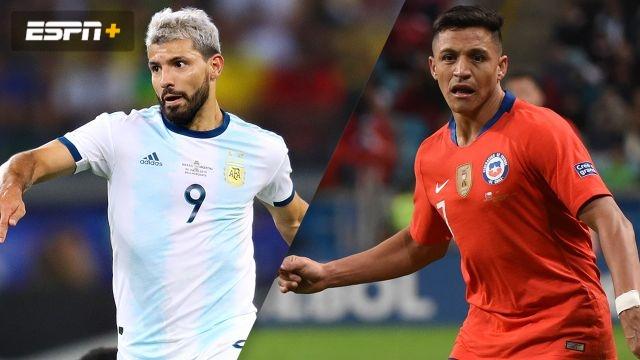 Argentina vs. Chile (3rd Place) (Copa America)