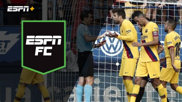 Wed, 9/4 - ESPN FC: Fallout at Barcelona?