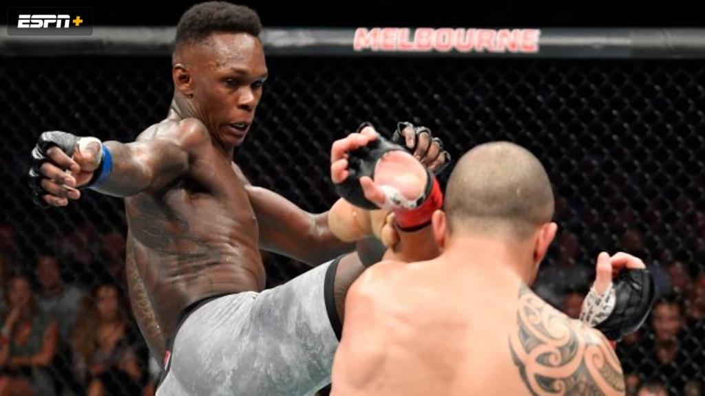 UFC 243: Whittaker vs. Adesanya (Main Card)