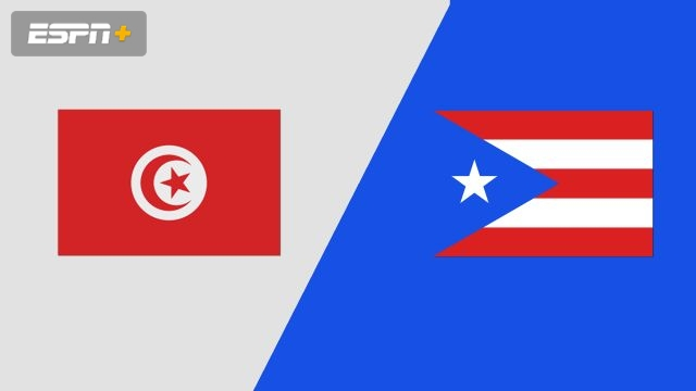 Tunisia vs. Puerto Rico (Group Phase)
