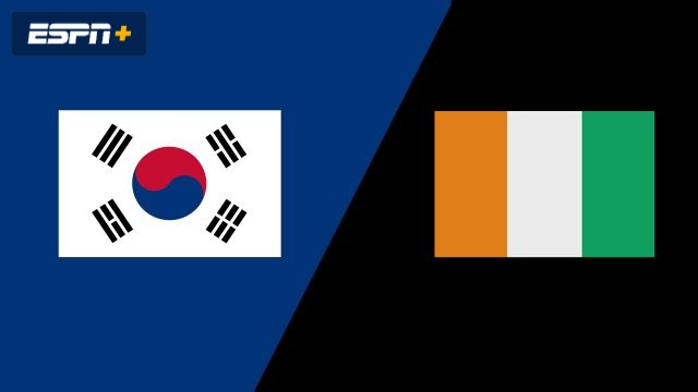 Korea vs. Cote D'Ivoire (Group Phase)