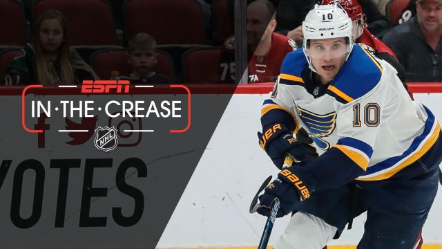 Sat, 2/16 - In the Crease: Blues looking for 9th straight win