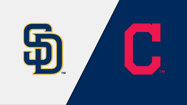 San Diego Padres vs. Cleveland Indians