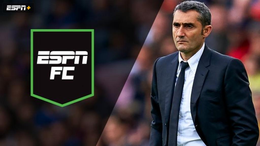 Mon, 1/13 - ESPN FC: Barca makes manager change