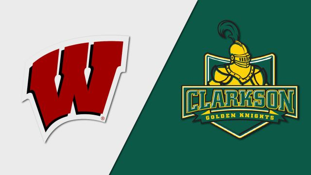 #13 Wisconsin vs. Clarkson (M Hockey)