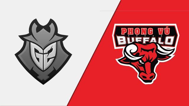 10/15 G2 Esports vs. Phong Vu Buffalo