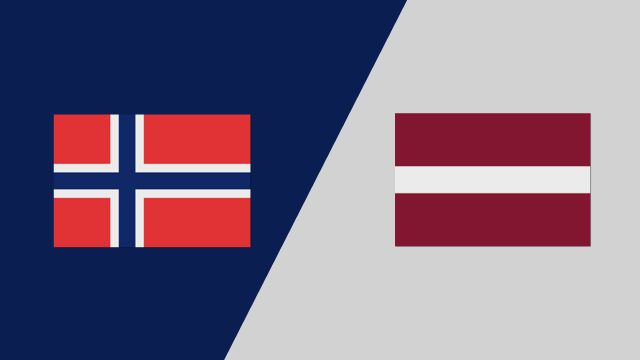 Norway vs. Latvia (2018 FIL World Lacrosse Championships)