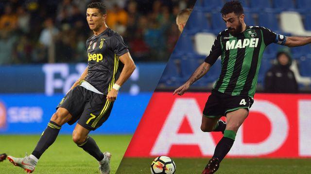 Juventus vs. Sassuolo (Serie A)