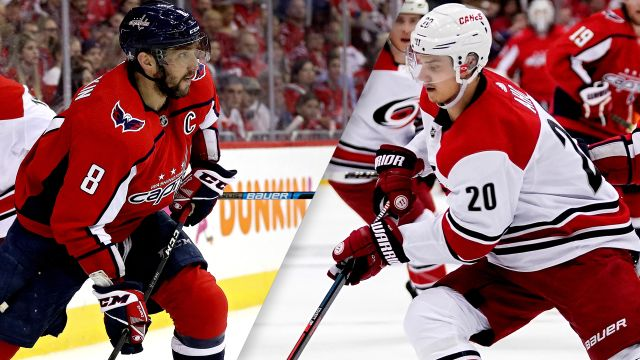 Washington Capitals vs. Carolina Hurricanes