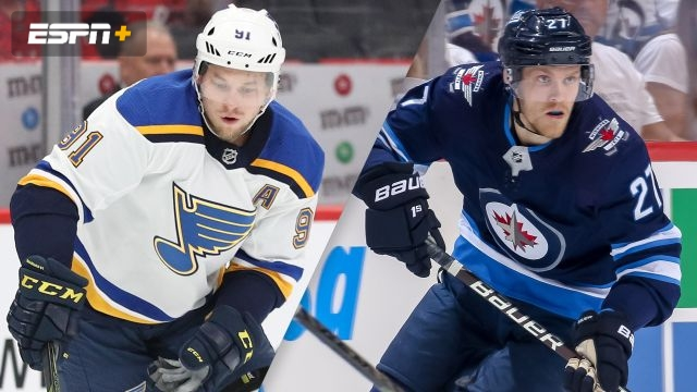 St. Louis Blues vs. Winnipeg Jets