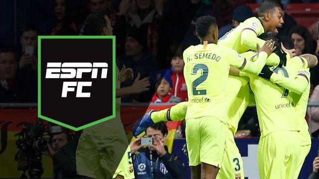 Sat, 11/24 - ESPN FC: Drama in La Liga