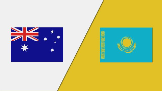 Australia vs. Kazakhstan (FIBA World Cup Qualifier)
