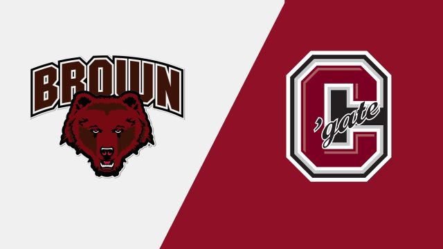 Brown vs. #9 Colgate (W Hockey)