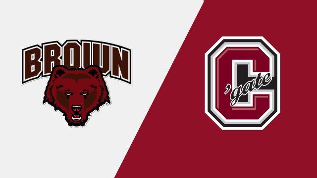 Brown vs. #9 Colgate (W Hockey)