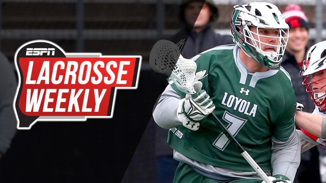 Tue, 4/23 - Lacrosse Weekly: Pat Spencer chasing history