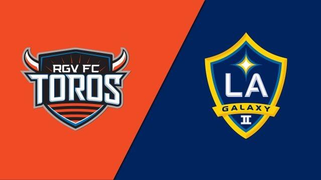 Rio Grande Valley FC Toros vs. LA Galaxy II (USL Championship)