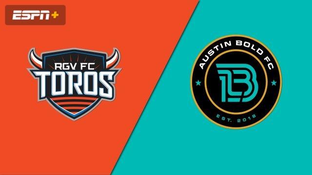 Rio Grande Valley FC Toros vs. Austin Bold FC (USL Championship)