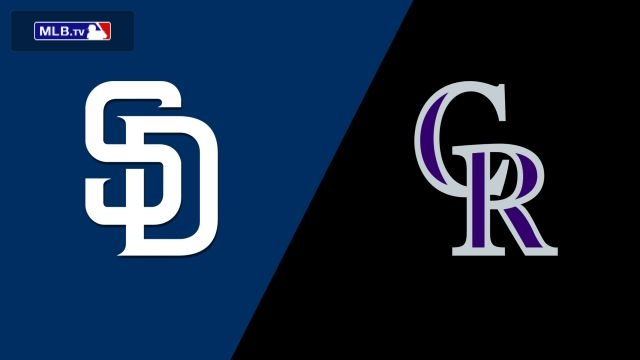 San Diego Padres vs. Colorado Rockies