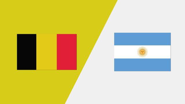 Belgium vs. Argentina (2018 FIL World Lacrosse Championships)