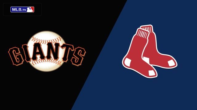San Francisco Giants vs. Boston Red Sox