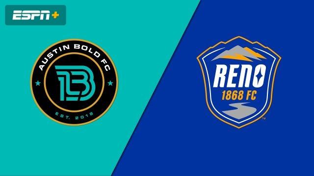 Austin Bold FC vs. Reno 1868 FC (USL Championship)
