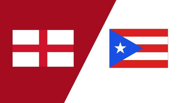England vs. Puerto Rico (2018 FIL World Lacrosse Championships)