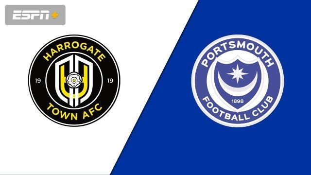 Harrogate Town F.C. vs. Portsmouth (Round 1) (FA Cup)