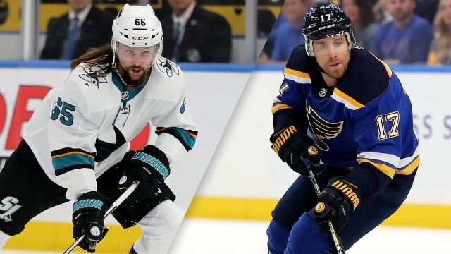 San Jose Sharks vs. St. Louis Blues