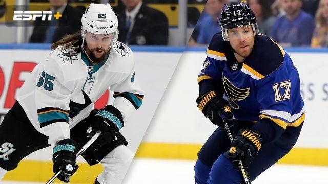 San Jose Sharks vs. St. Louis Blues