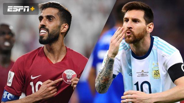 Qatar vs. Argentina (Group Stage) (Copa America)