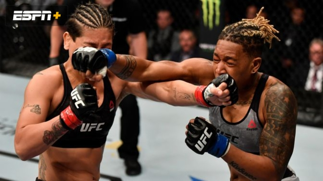Priscila Cachoeira vs. Shana Dobson (UFC Fight Night: Felder vs. Hooker)