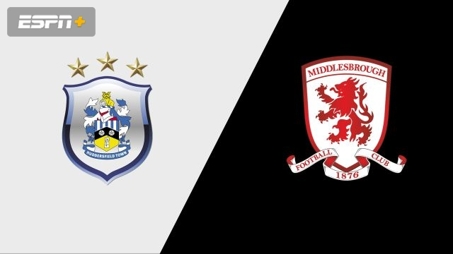 Huddersfield Town vs. Middlesbrough (English League Championship)