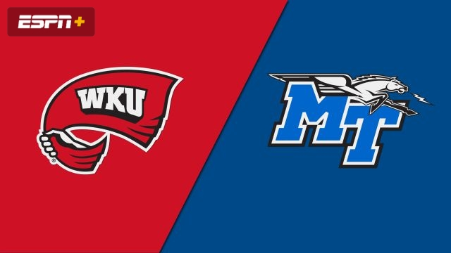 #24 Western Kentucky vs. Middle Tennessee (W Volleyball)