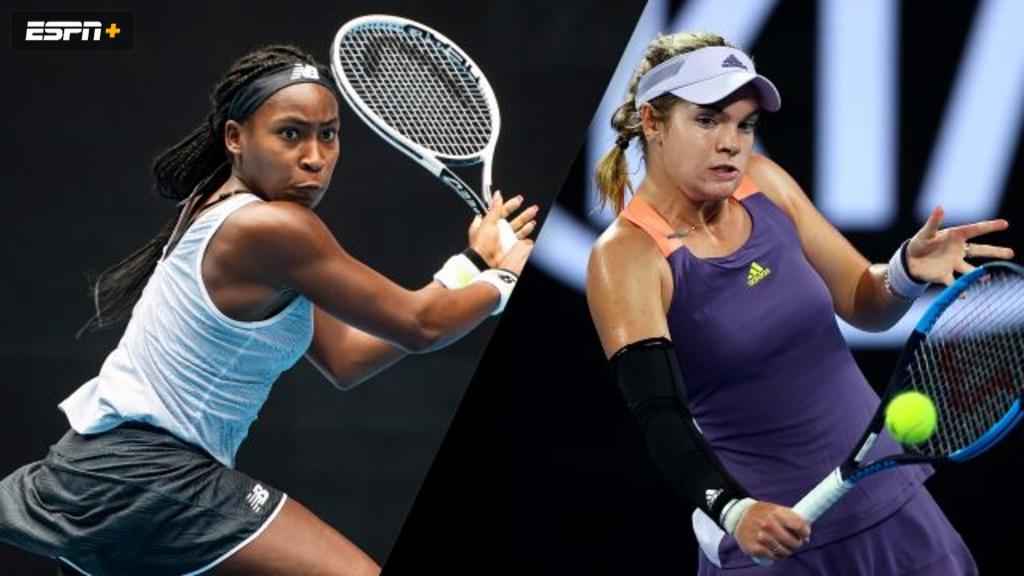 Gauff/McNally vs. Muchova/Teichmann (Women's Doubles First Round)