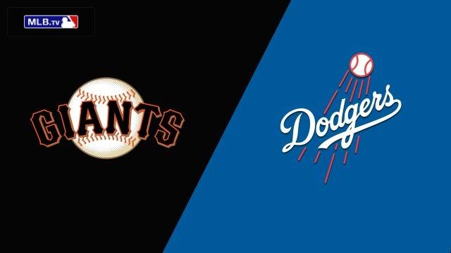 San Francisco Giants vs. Los Angeles Dodgers