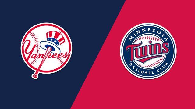 New York Yankees vs. Minnesota Twins