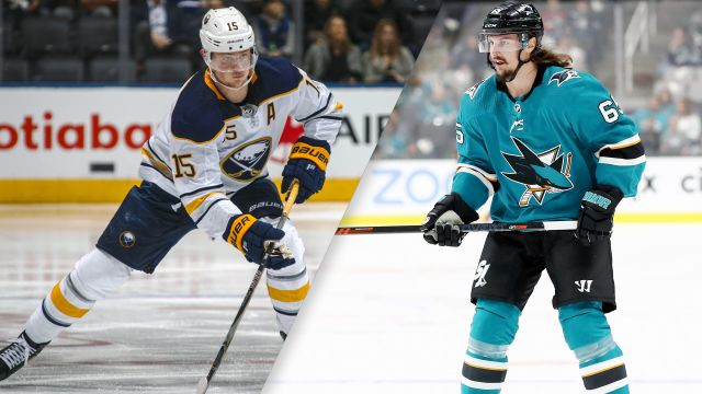 Buffalo Sabres vs. San Jose Sharks