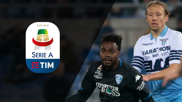 Tue, 2/12 - Serie A Full Impact: Lazio faces off with Empoli