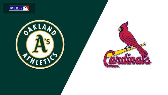 Oakland Athletics vs. St. Louis Cardinals