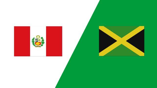 Peru vs. Jamaica (2018 FIL World Lacrosse Championships)