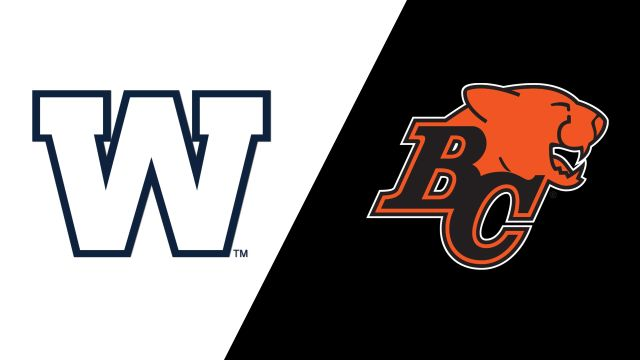 Winnipeg Blue Bombers vs. BC Lions