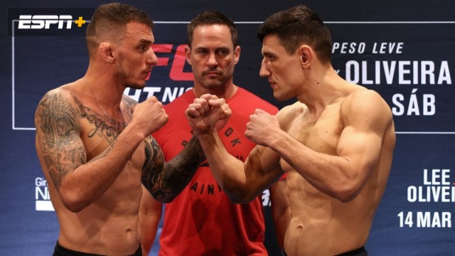 Renato Moicano vs. Damir Hadzovic (UFC Fight Night: Lee vs. Oliveira)