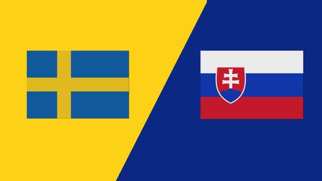Sweden vs. Slovakia (UEFA International Match)